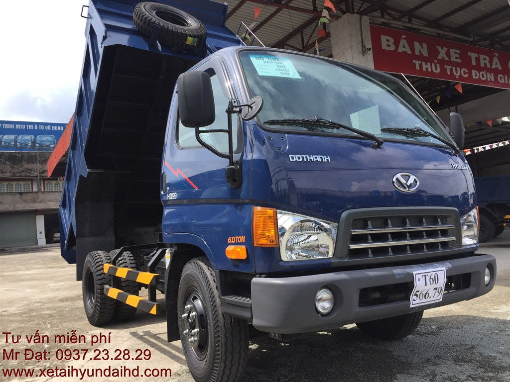 xe ben Hyundai Mighty HD99-D60