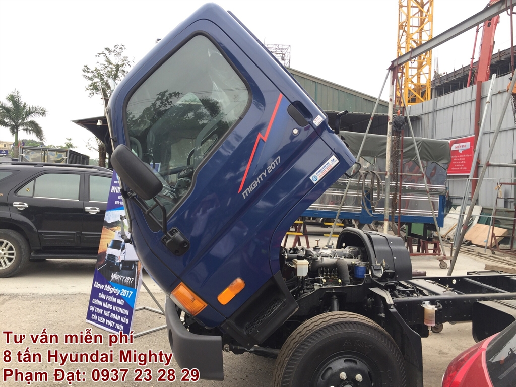 hyundai mighty 2017